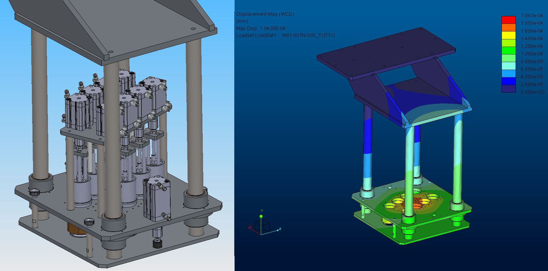 CAD/CAM/CAE FEM Analysis