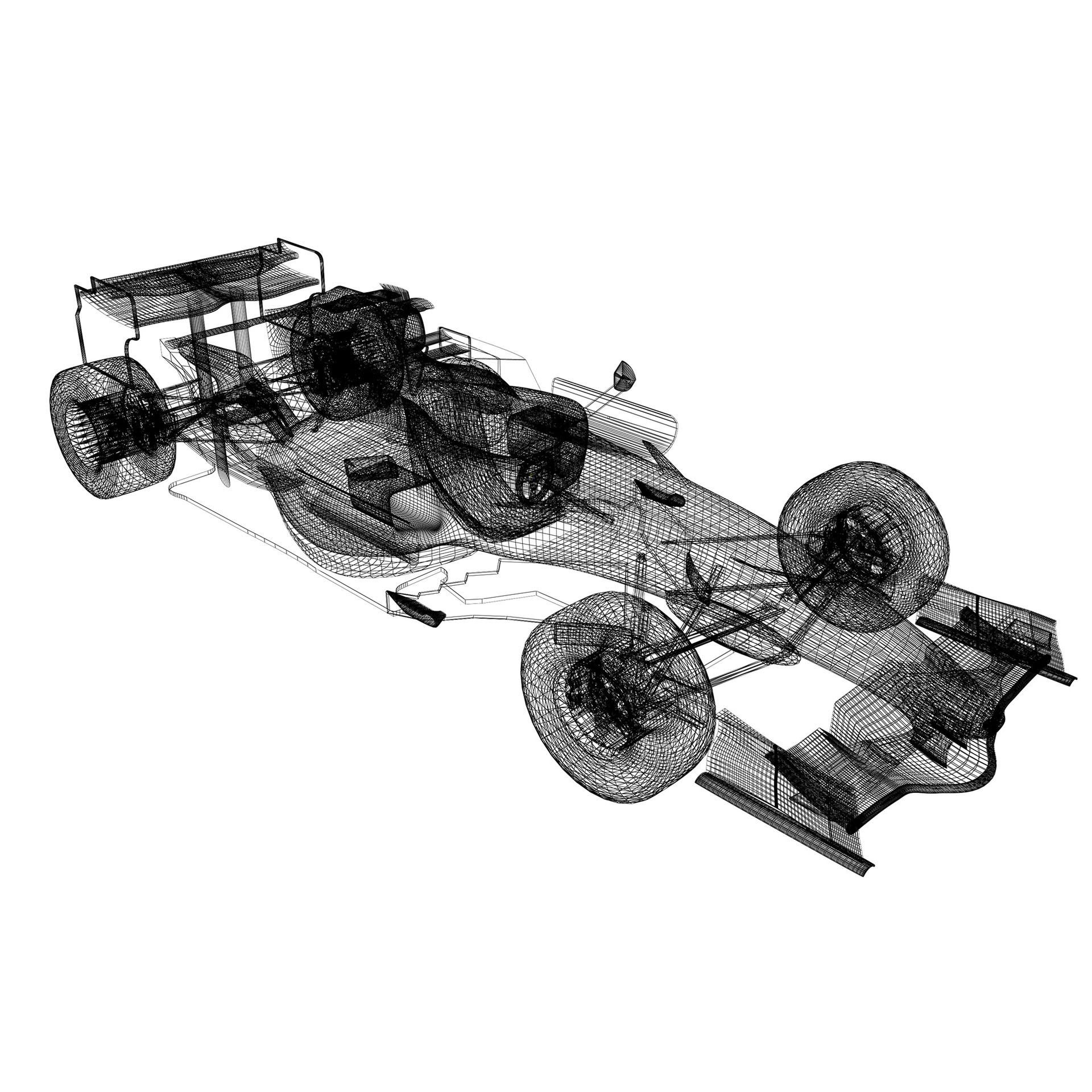 F1 Formula 1 car mechinno