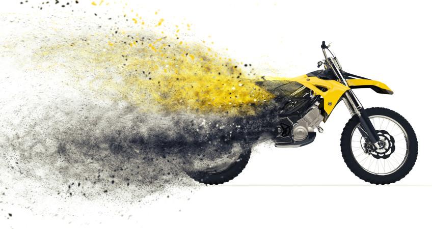 Racing moto mechinno