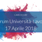 Career Day at Roma Tor Vergata - 17/04/2018