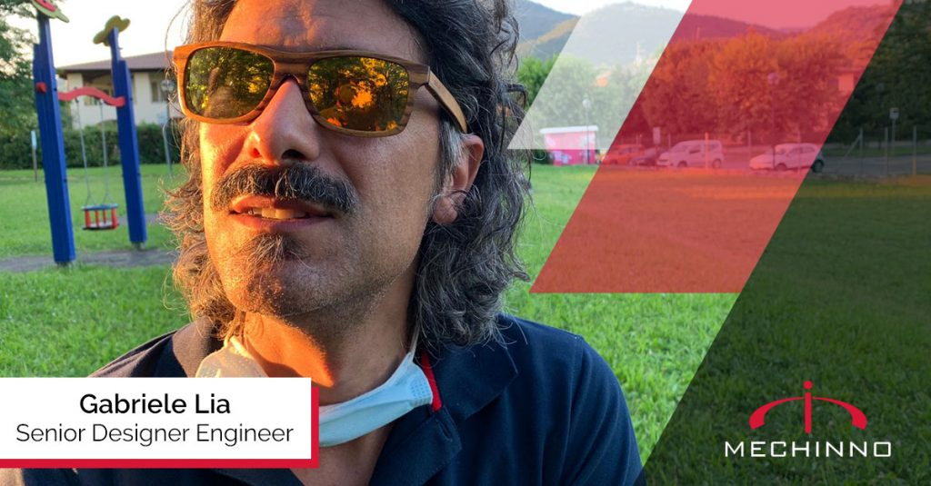 Gabriele Lia -Senior Designer Engineer Mechinno